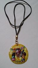 South Western Necklace/BoyGirl At Play Leather Cord/Degrazio Gallery Az.