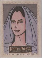 "Lord of the Rings Masterpieces II - Jamie Snell ""Arwen"" Sketch Card"