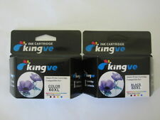 2pk Refilled HP 60XL black & Colour ink cartridges HP60 XL for F4280 F4283 F4288
