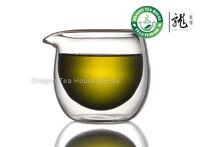 Double Wall Clear Glass Cha Hai Tea Pitcher 120ml