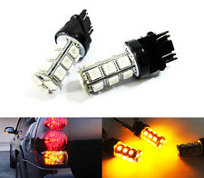 Amber 18 SMD LED 7443 7440 For Toyota Rear Turn Signal Light RAV4 Camry Sienna