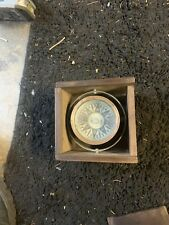 """Antique A. S. Morss dry compass 5"""" diameter in box"""