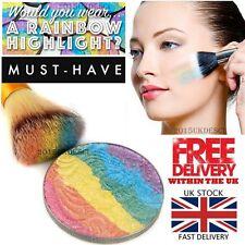 ARCOBALENO Unicorn EVIDENZIATORE polvere Shimmer Eyeshadow Palette Fard Contour