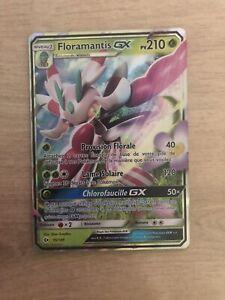 carte pokemon Floramantis gx 15/149 livraison gratuite et protection offerte