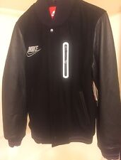 NEW MEN'S NIKE DESTROYER VARSITY JACKET SZ SMALL WOOL LEATHER NWT 3M Flash S Air