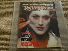 Rolling Stone Magazin Februar 1982 Meryl Streep John Lennon Jamie Lee Curtis