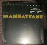 The MANHATTANS Back To Basics LP Vinyl 1986 Columbia Lbl FC40300 Soul Sealed