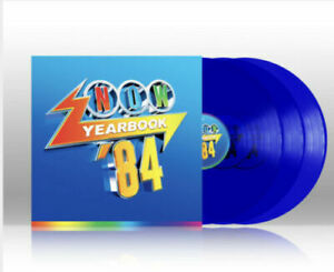 Various Now That's What I Call Music Yearbook 1984 3 x Blue Vinyl LP Sealed