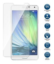 """Genuine 0.33 Clear HD Tempered Glass Screen Protector for Samsung Galaxy A7 5.5"""""""