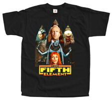 The Fifth Element T SHIRT Movie Poster V6 BLACK TEE all sizes