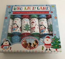 Christmas Crackers Box Of 6 Who Am I Game