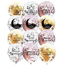 5pcs Eid Mubarak Balloons Ramadan Inflatable Toys Party Event Decor Muslim Gifts