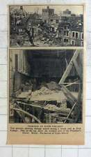 1940 Recent Air Raid At Eton College, Upper School, Precentors House