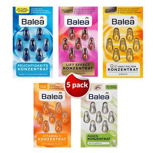 BALEA Concentrate Effect Anti Lift Wrinkle Face Serum Q10 Skin 35 Capsules