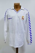 REAL MADRID SPAIN 1989/1990 HOME FOOTBALL SHIRT CAMISETA JERSEY HUMMEL VINTAGE