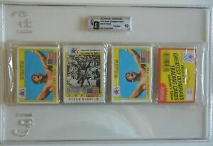 GAI-10 PERFECT 1983 TOPPS OLYMPIANS DOUBLE CASSIUS CLAY / MUHAMMAD ALI RACK PACK