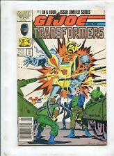 G.I. JOE AND THE TRANSFORMERS #1 - BLOOD ON THE TRACKS! - (7.0) 1987