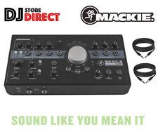 MACKIE BIG KNOB STUDIO+ PLUS Monitor Controller & USB Interface 2 FREE TRS LEADS