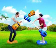 Outdoor Indoor Family Inflatable Big Sky Gladiator Jousting Challenge Game Set