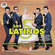 LOS CINCO LATINOS (1958-1960)-CD