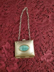 Antique/Vintage Old Small Silver Doll Purse Cute