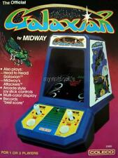 "Vintage art GALAXIAN 2"" x 3"" Fridge MAGNET Table Top Arcade Game COLECO SEGA"