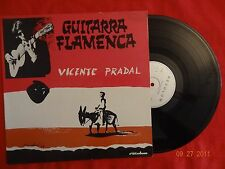 VICENTE PRADAL Guitarra Flamenca LP France Press (EX-/EX-)   F
