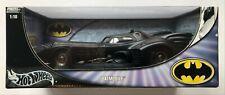 DC Comics Batman Returns 1:18 Scale Batmobile Hotwheels Metal Collection