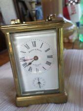 Pendule d'Officier- Pendulette de voyage-Maison du Nègre-montre-carriage clock