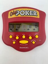 1999 Radica Color Video Poker Handheld Electronic Travel Video Game