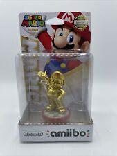 Gold Mario Amiibo Nintendo Super Mario Series