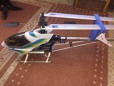 Hubschrauber , Heli , Hirobo Sceadu , FF 9 , Flugfertig , Sprit und Anlasser, OS