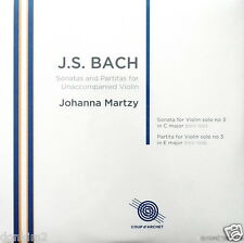 JOHANNA MARTZY / Bach Sonata & Partita No.3 / UK COUP d'ARCHET, COUP 019