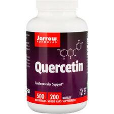 Quercetin, 500mg x 200 Caps, Allergy/Sinus, Heart, Cold/Flu - Jarrow Formulas