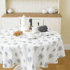 Exclusive Lavender 147cm 58 Round Floral Cotton Tabecloth