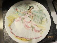 Limoges Plate Scarlet O'Hara France Collector Plate Rareles Femmes Du Siecle 186