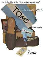 Toms Shoes men's Classic Ash Gray Canvas Size 11M $49,99 free shipping 100% TOMS