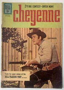1961 CHEYENNE TV COMIC # 23~CLINT WALKER