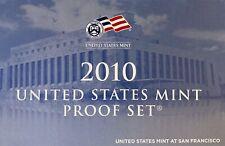 2010  United States Mint Proof Set w/Box & CoA