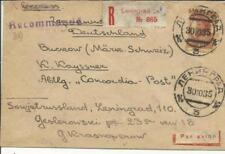 Russia SOVIET Sc#426(single frank) LENINGRAD 30/10/35 Registered(label)