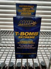MHP T-BOMB 3XTREME TEST Formula 168 Capsules Five Phase Hormone Optimizing Compl