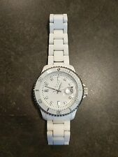 Toy Watch Women's White with Date PCLS02WH