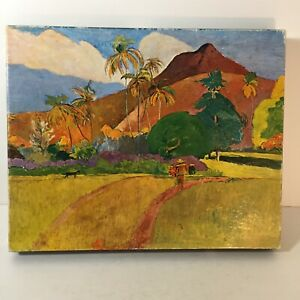 Complete 1968 Springbok Tahitian Landscape by Paul Gauguin Jigsaw Puzzle 500+ pc