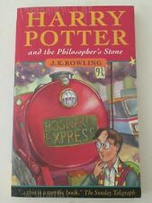 HARRY POTTER & THE PHILOSOPHER'S STONE 1st/2nd CANADIAN EDITION 1997 J K ROWLING