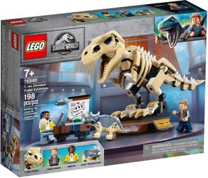 Lego 76940 T. Rex Dinosaur Fossil Exhibition Jurassic World