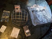 BRAND NEW IN THE BAG BAUER TRUE VISION HOCKEY HELMET CAGE MASK FM4000M COMPLETE