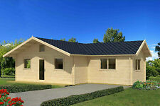 70 mm Gartenhaus Columbia Ferienhaus Blockhaus ca.1035 x 794 cm