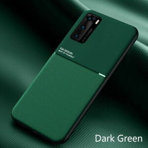 Owl and Tree LA-Otter compatible for Huawei P20 Lite Wallet Case Green Leather Flip Cover with Card Holder Full Body Protection Shockproof