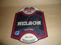 DOUBLE TOP NELSON  Ale Beer Pump Clip MAN CAVE