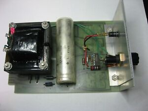 DATA-TEL PS-5R1 Power Supply PCB Card Board Module 1970s Used Untested Qty 1